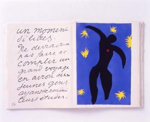 20170826アンリ・マティス 『ジャズ』より イカルス 1947年刊