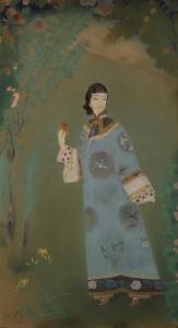 20171021廣島晃甫〈青衣の女〉東京国立近代美術館